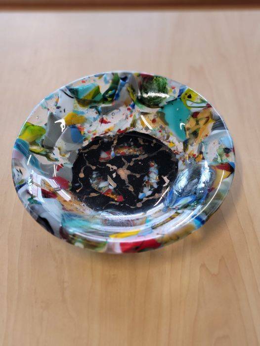 Fused Glass Workshop - Glass Bowl\/Plate