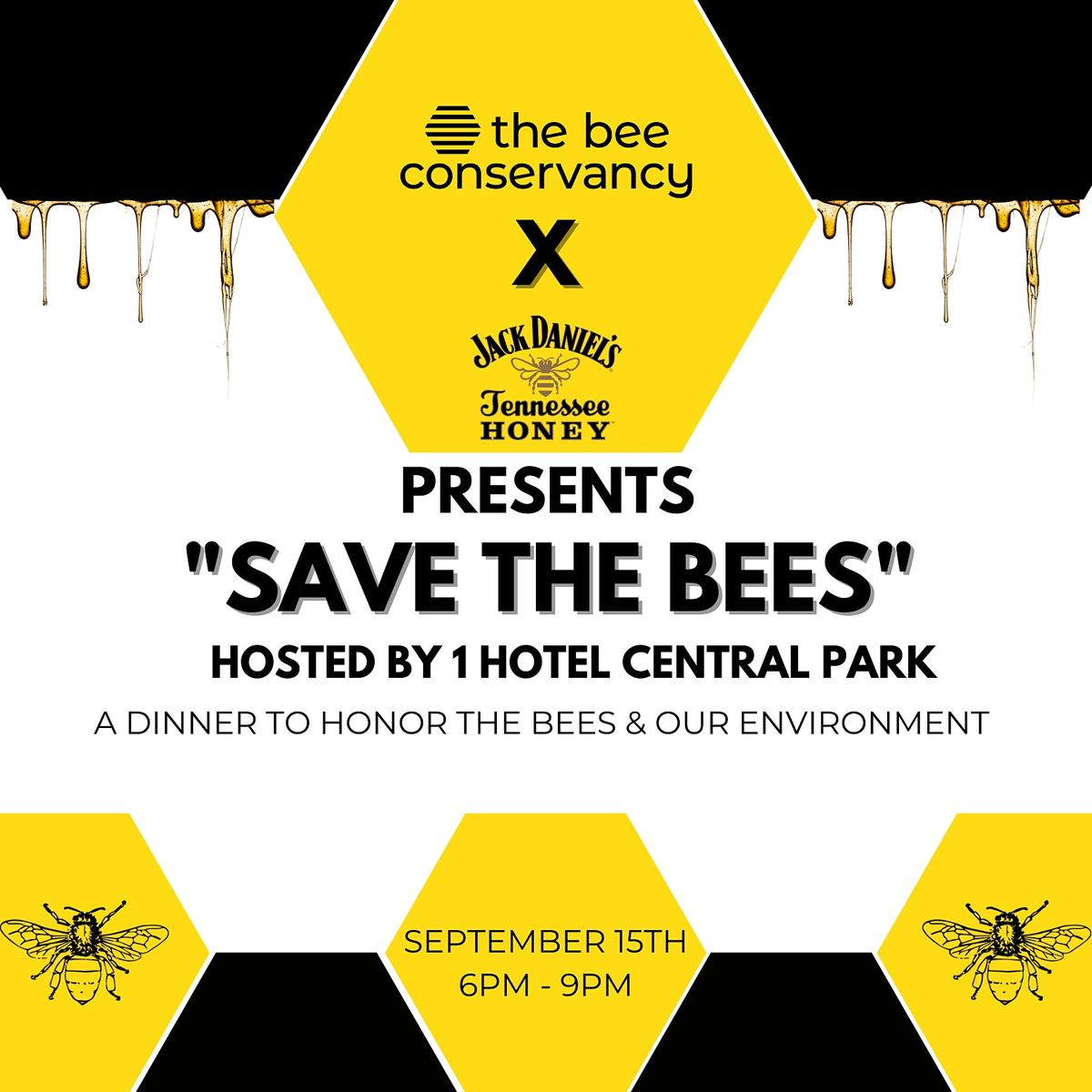Save the Bees Dinner Presented by Jack Honey & The Bee Conservancy