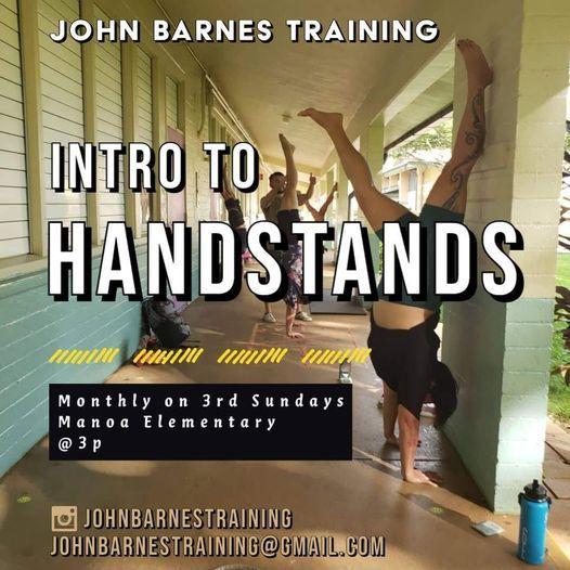 Intro to Handstands