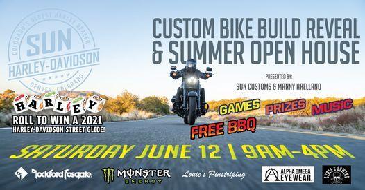 Custom Bike Build Reveal & Summer Open House