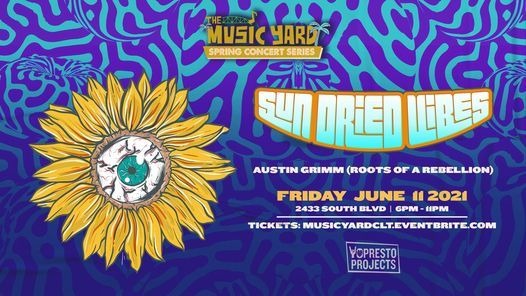 """Sun-Dried Vibes & Austin Grimm of """"Roots of a Rebellion"""" at The Music Yard"""