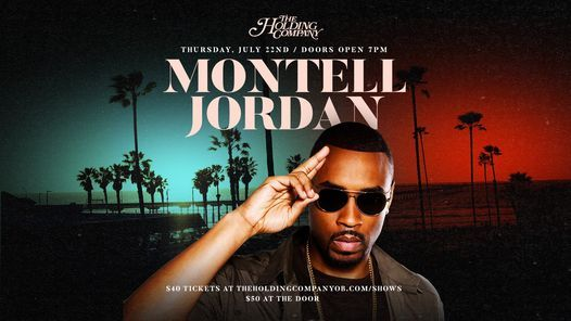 Montell Jordan at THC!