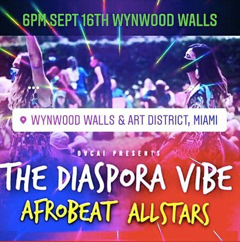 The Diaspora Vibe Afrobeat Allstars