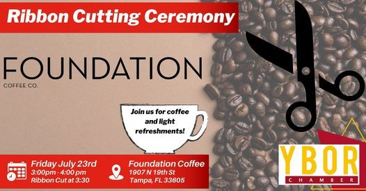 Ribbon Cutting for Foundation Coffee Co.