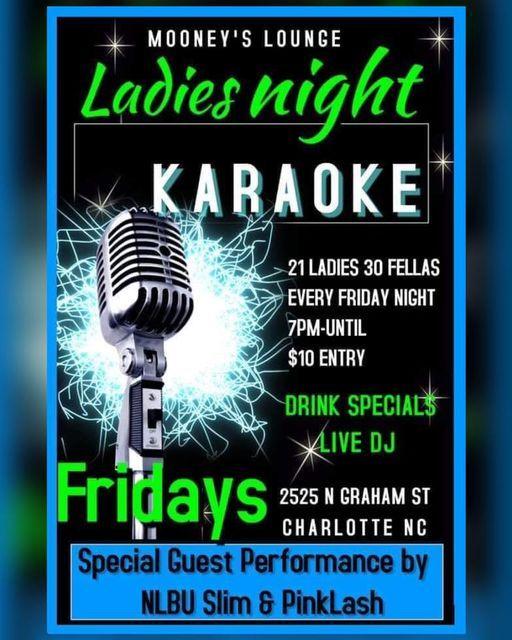 LADIES NIGHT at Mooneys Lounge