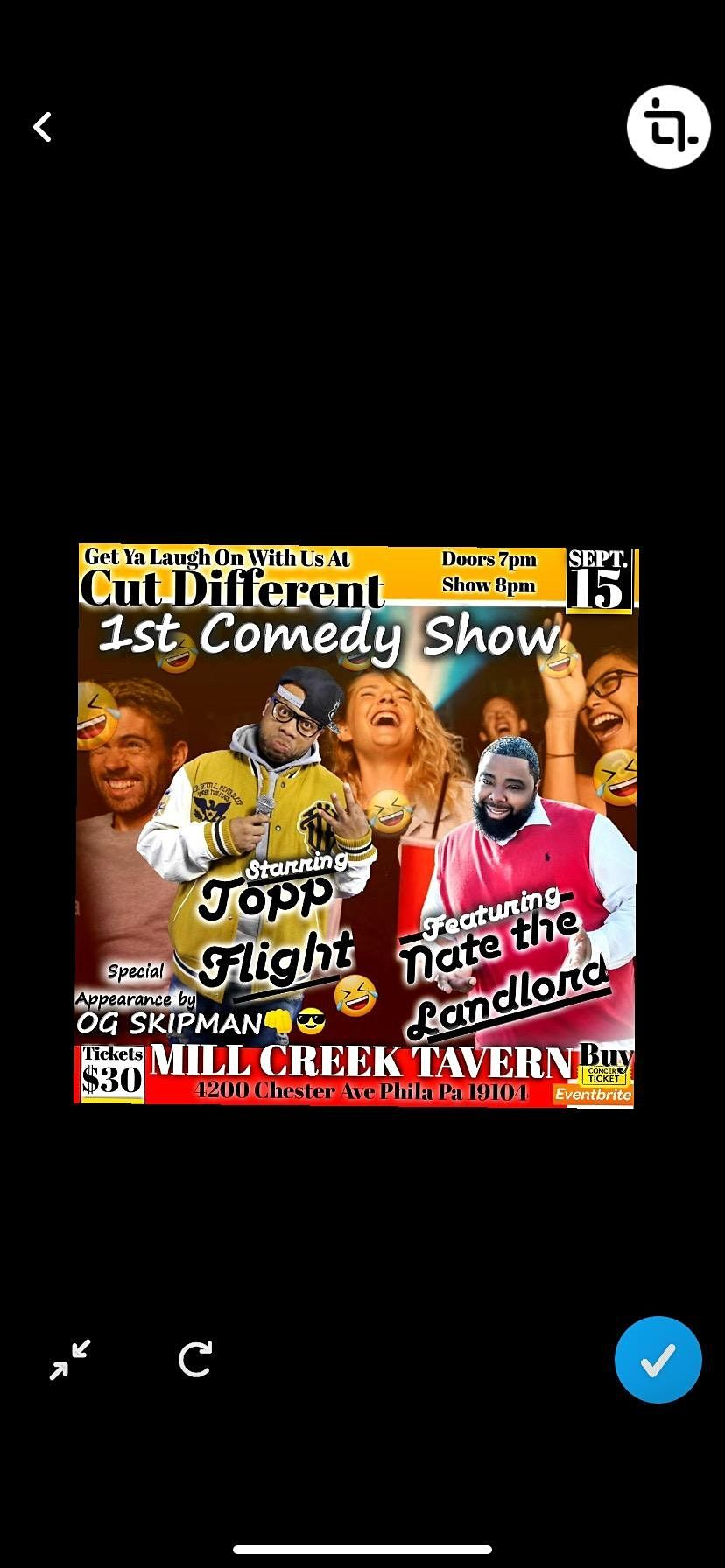 Cut different Comedy Show