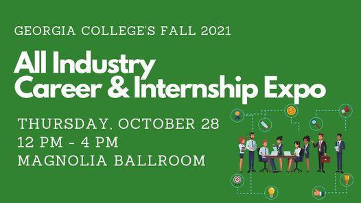 All Industry Career & Internship Expo - Fall 2021