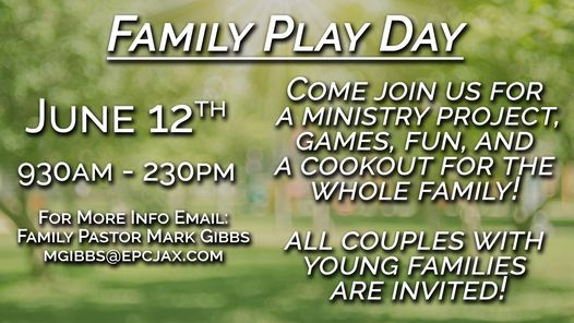 EPC Family Play Day