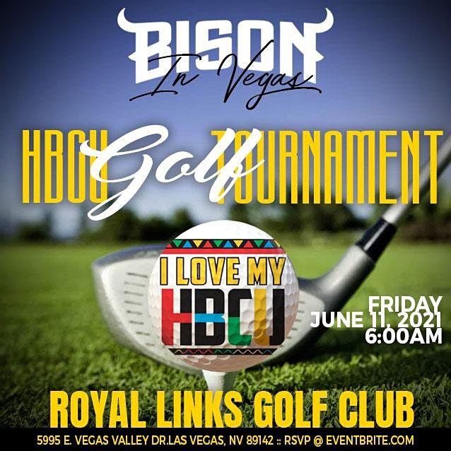 Bison In Vegas HBCU Golf Tournament