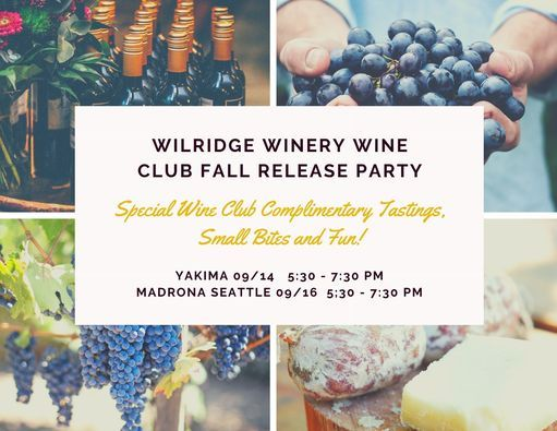 Wilridge Wine Club Fall Release Party Madrona Seattle
