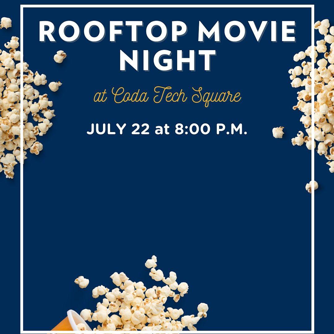 Rooftop Movie Night at Coda