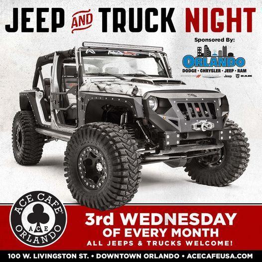 Jeep & Truck Night at the Ace!