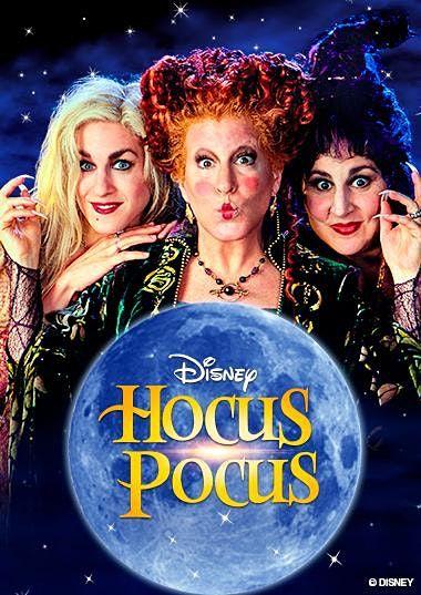 HOCUS POCUS EVENT 3:00 Movie 6:45 Tour