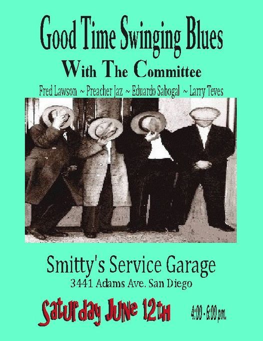 Chet and The Committee's Triumphant Return at Saturdays at Smitty's Service