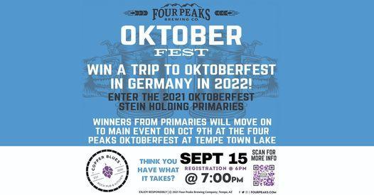 Four Peaks Stein-Holding Contest Qualifier @ Copper Blues!