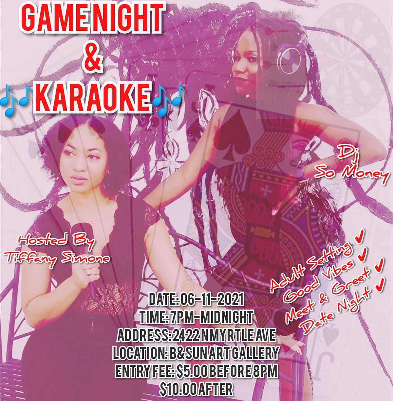 Adult Game Night & Karaoke