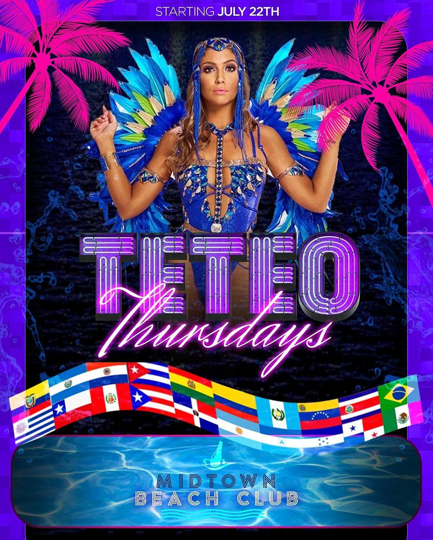 Teteo Thursdays at Midtown Beach Club