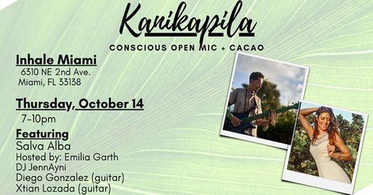 Kanikapila Conscious Open Mic + Cacao