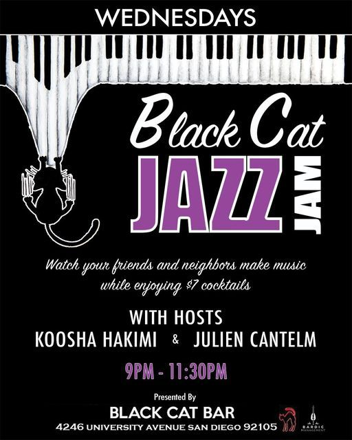 Black Cat Jazz Jam - Koosha Hakimi
