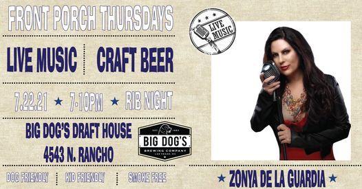 Front Porch Thursdays - Zonya De La Guardia