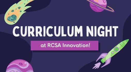 RCSAI's Curriculum Night