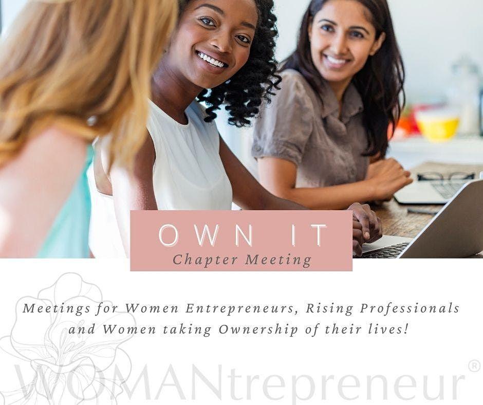 WOMANtrepreneur-OWN IT-Downtown Orlando Chatper (Prospective New Members)