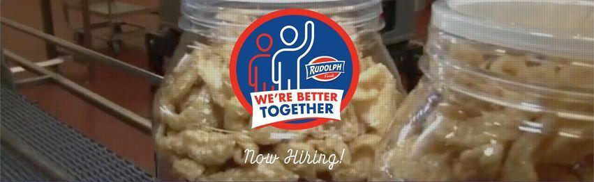 Join Our Team! - Rudolph Foods Job Fair (Dallas)