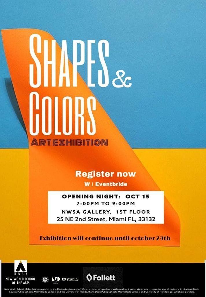 Shapes & Colors Art Exhibition